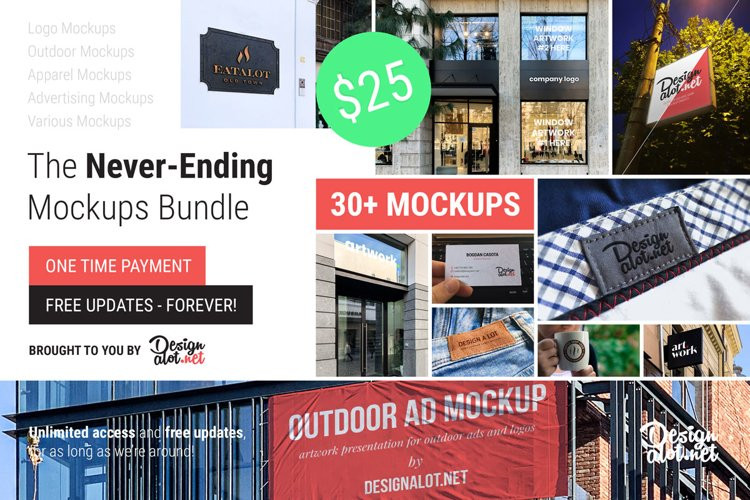 The Never-Ending Mockups Bundle