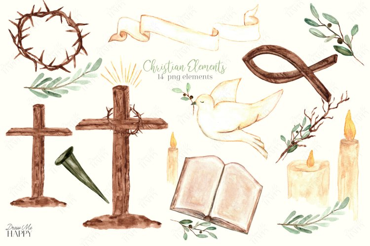 Christian Clipart, Religious Clipart, Christian Symbols