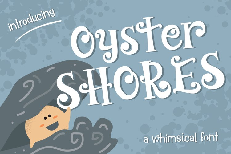 Oyster Shores Font example image 1