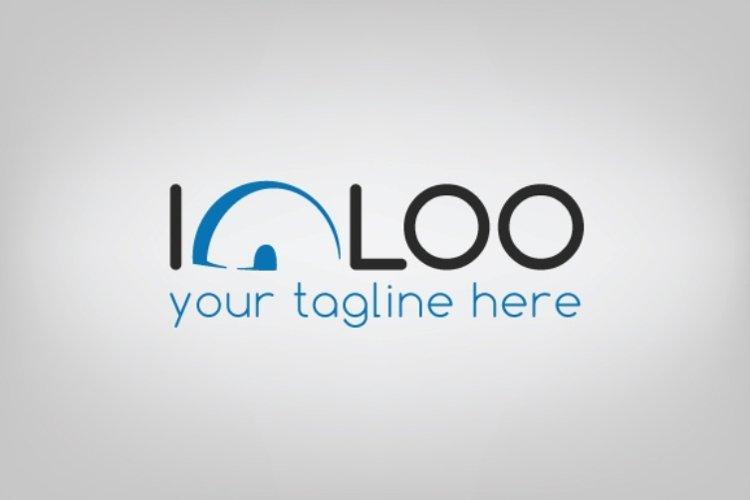 Igloo logo template