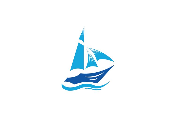 ship in the wave clipart vector illustration example image 1