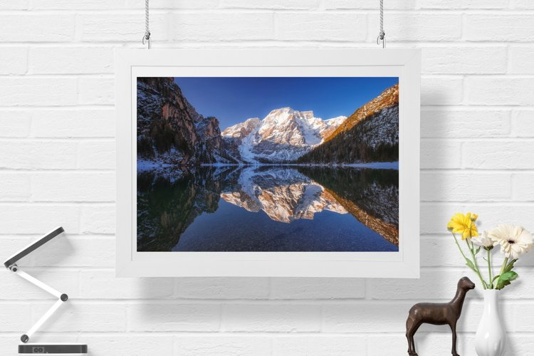 Lake Braies - Wall Art - Digital Print example image 1