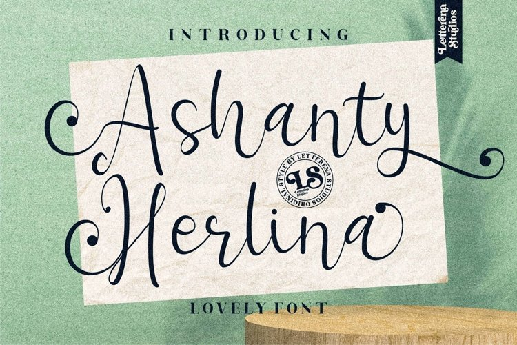 Ashanty Herlina - Beautiful Script Font example image 1
