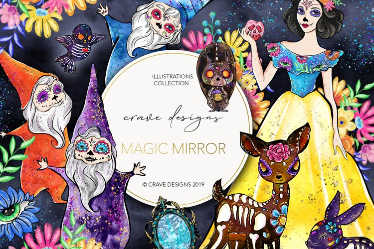 Magic Mirror Clip Art example image 1