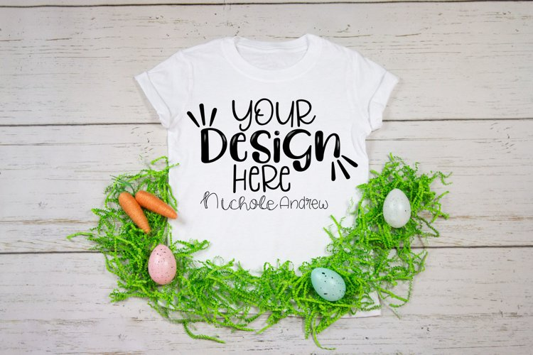 Toddler T-Shirt Easter Mockup example image 1