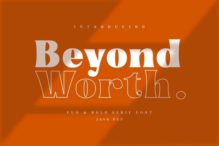 Beyond Worth - Fun & Bold example image 1