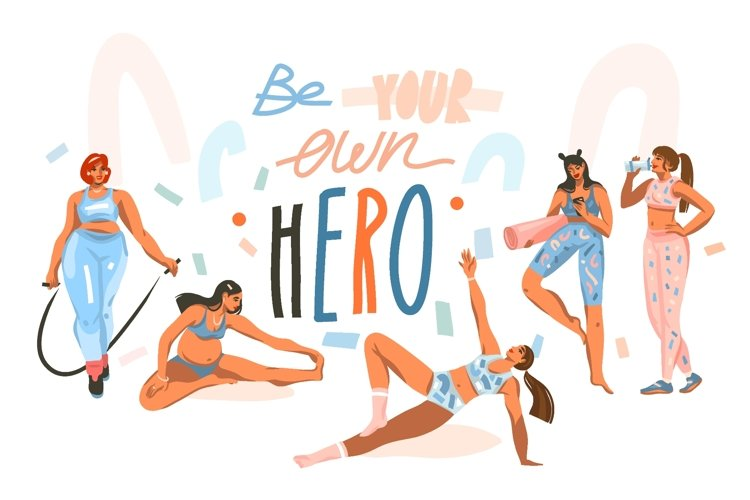 Be Your Own Hero example image 1