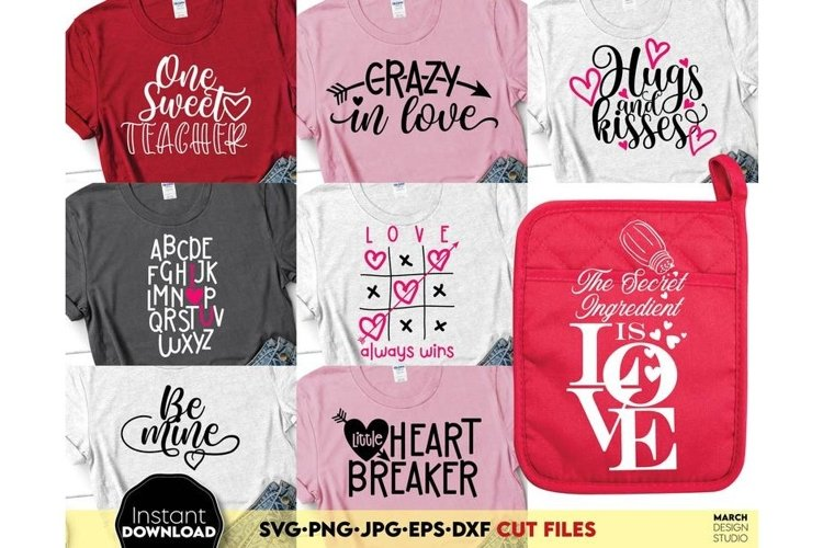 Valentine Day svg Bundle, Heart svg, Valentine svg, Love svg example image 1