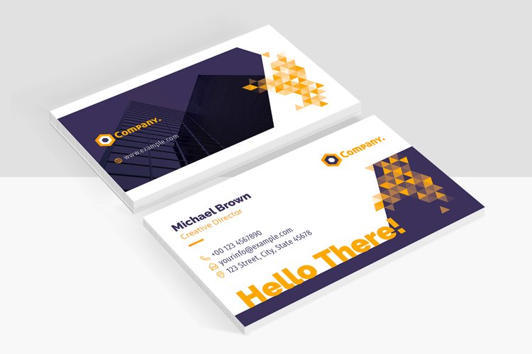 Business Card Creative Template example image 1