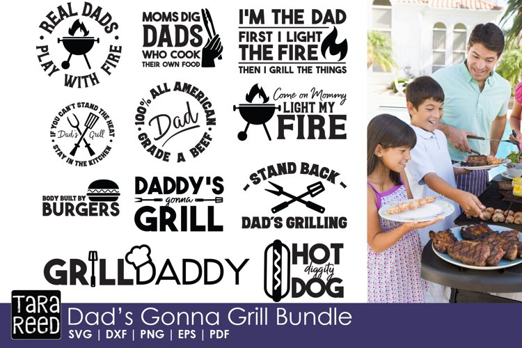 Dad's Gonna Grill Bundle example image 1