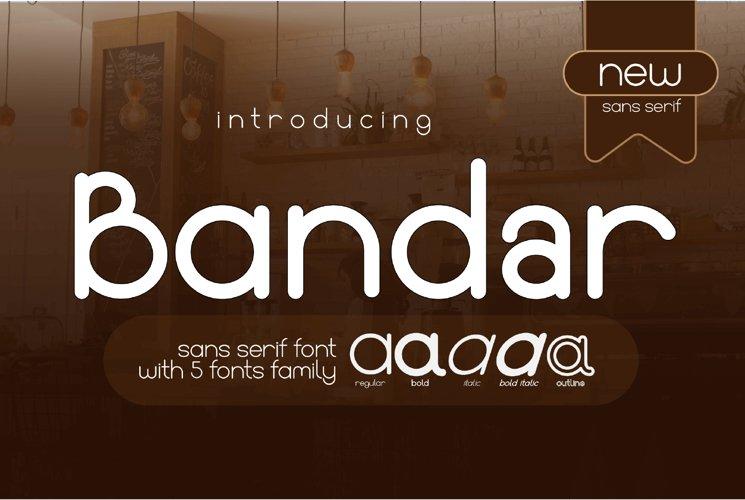 Bandar Sans Serif Modern Font Family Webfonts