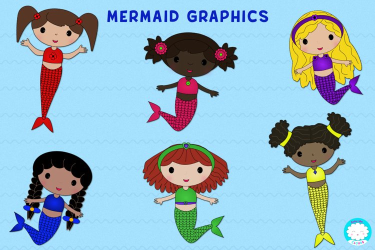 Mermaid Graphics