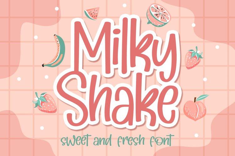 Milky Shake example image 1