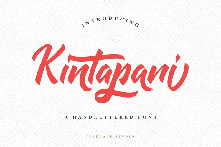 Kintapani example image 1
