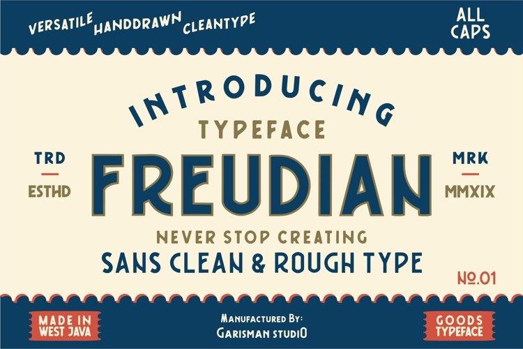 FREUDIAN TYPEFACE example image 1