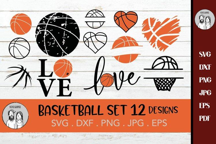 Basketball svg Bundle | Basketball cut file, Basketball example image 1