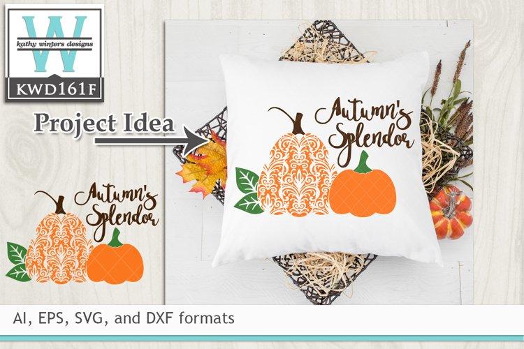 Autumn SVG - Autumn's Splendor example image 1