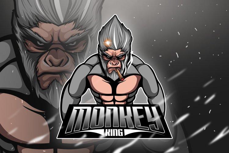 Monkey King 4 - Mascot & Esport Logo example image 1