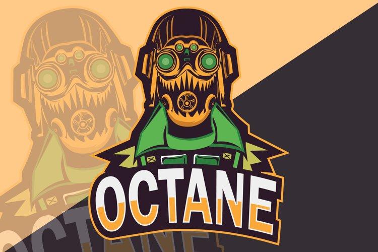 Octane Mascot Logo, Sport, Esport team example image 1