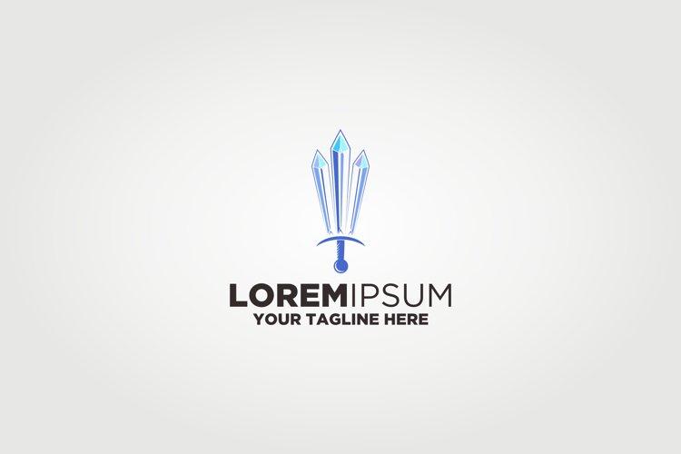 Crystal Sword Logo example image 1