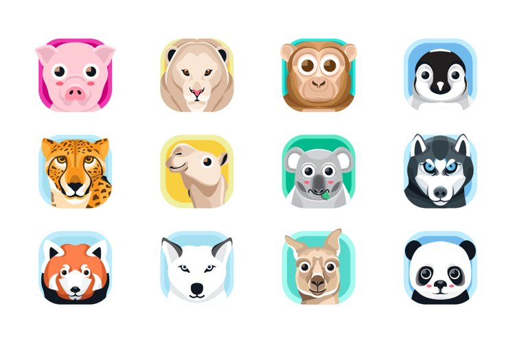 Animal App Icons 2 example image 1