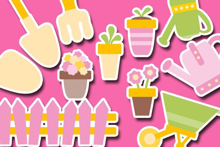 Gardening Clipart Illustrations example 1