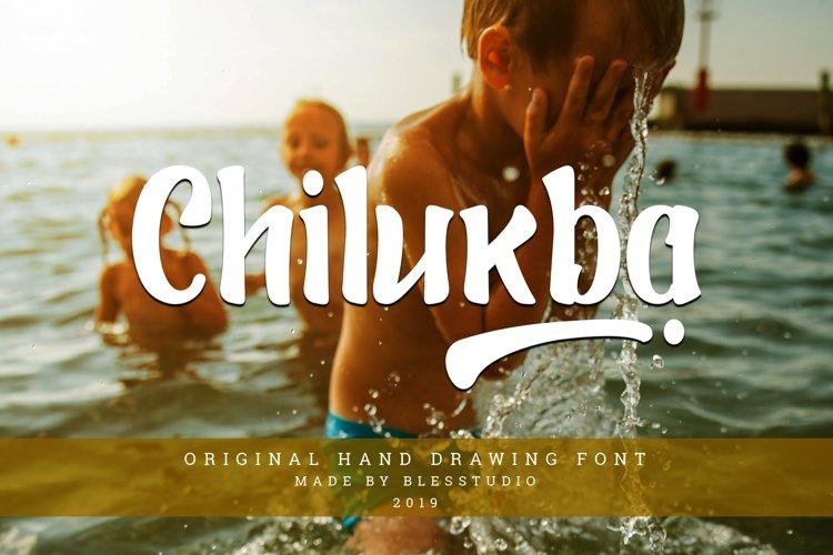 Chilukba - Decorative Font example image 1