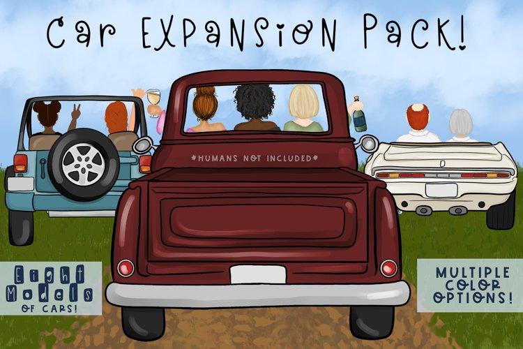 Car Expansion Pack  Expansion Pack for Build a Bundles example image 1