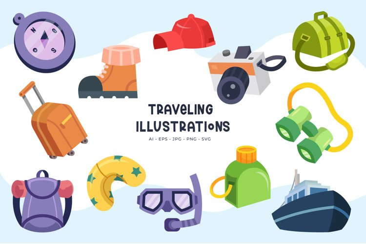 Traveling illustrations