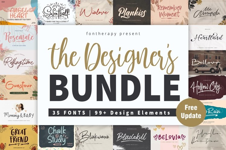 The Designer's Font Bundle example image 1