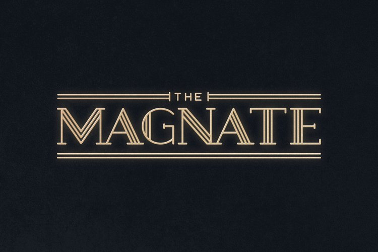Magnate Typeface example image 1