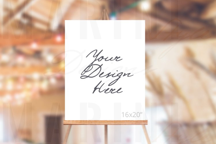 Easel Mockup, Wedding Sign Mockup, Welcome sign mockup, 995