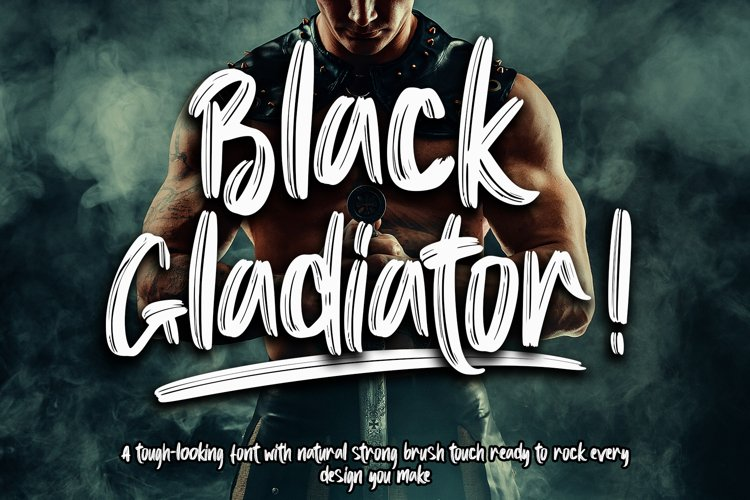 Black Gladiator example image 1