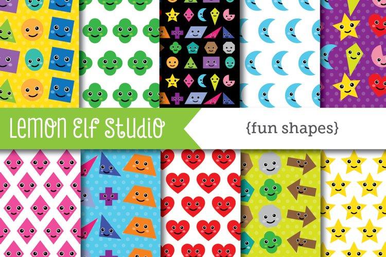 Fun Shapes-Digital Paper (LES.DP44)