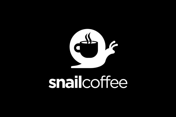 Snail And Coffee Vector