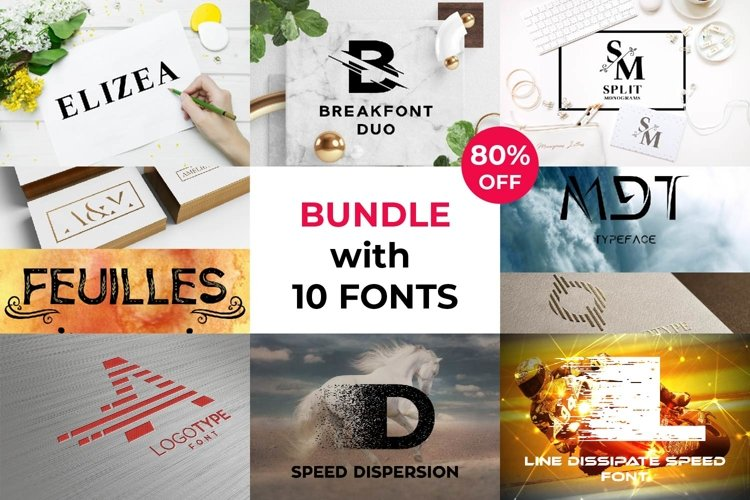 Ultimate Bundle with 10 Fonts example image 1
