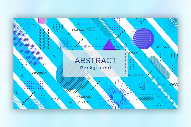 Modern Abstract Sky Blue Background