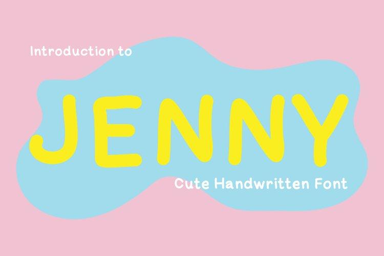 Cute Handwritten - Jenny example image 1