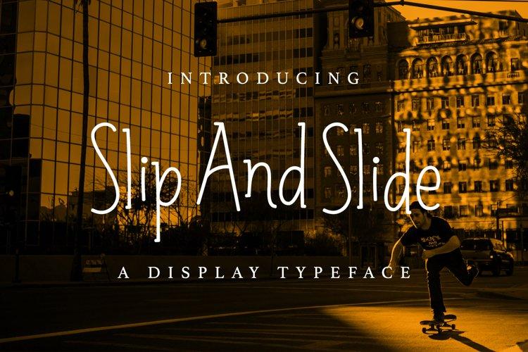Web Font Slip and Slide example image 1