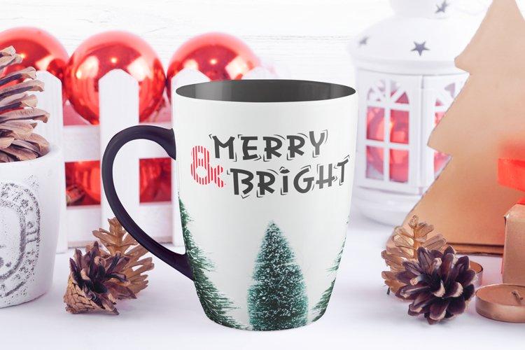 Christmas Font - Christmas Candy example 1