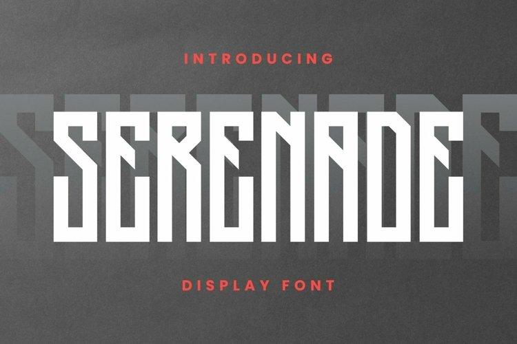 Web Font Serenade Font example image 1