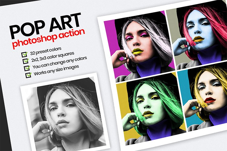 Pop Art PS action example image 1