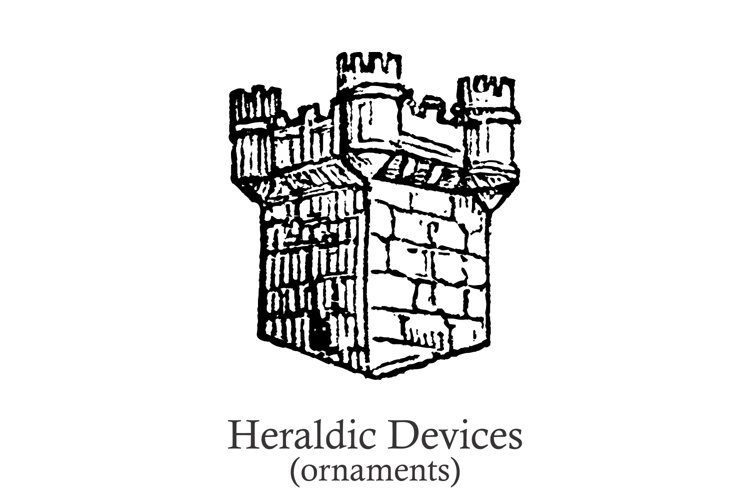 Heraldic Devices Premium   example image 1