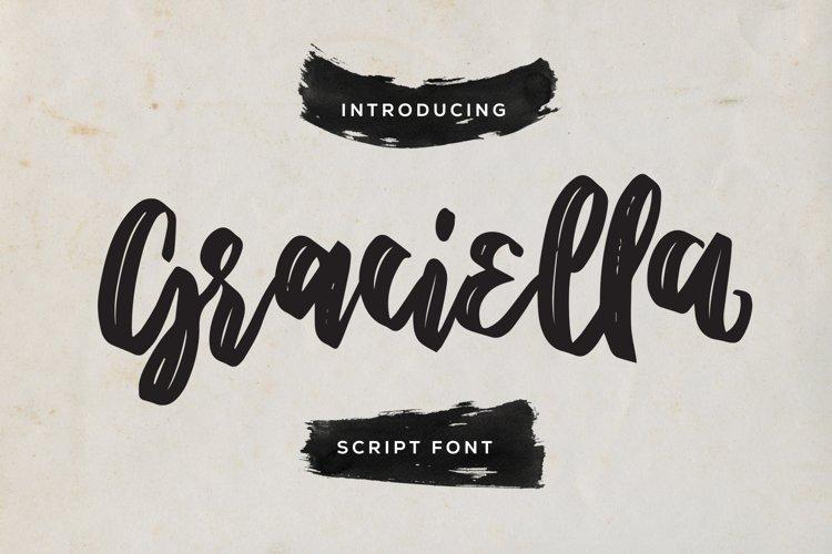 Graciella - Script Font