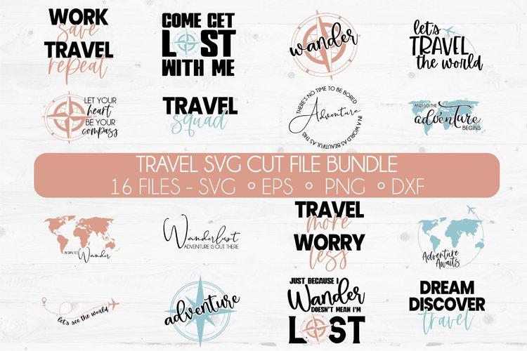 Huge Travel SVG Cut File Bundle