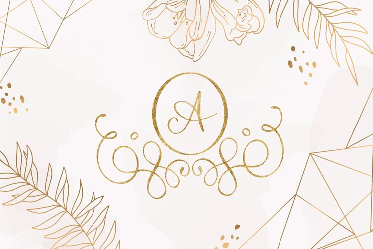 hello monogram example image 1