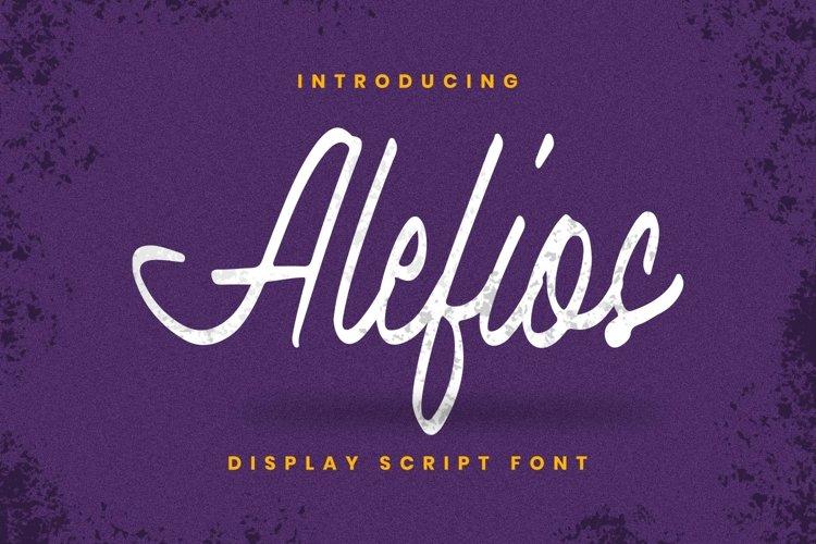 Alefios Font example image 1