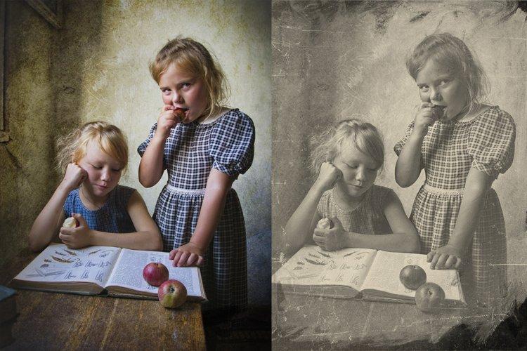 Vintage Old Photo Effect Overlays - Free Design of The Week Design5