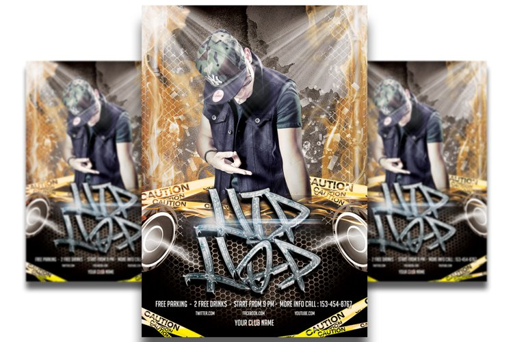 Hip Hop Flyer Template example image 1