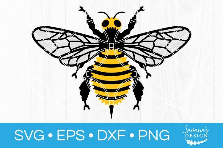 Bee SVG Honeybee Cut File Bumblebee DXF Bumble Honey SVG